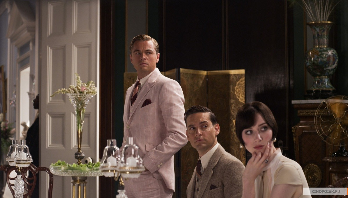 movie life like the great gatsby The great gatsby is a romantic drama and something on that genre, you may take a look at which version of the great gatsby are we talking about because if it's the leo version i'm not sure i'd call that great but here are some films infinitely better than that.